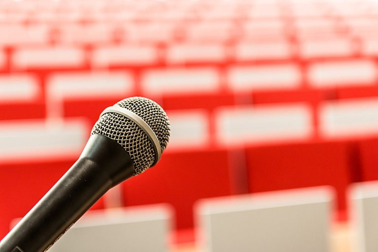 microphone, it, lecture